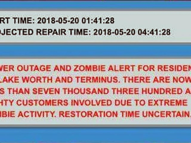 Lake Worth, Florida denies Zombie outbreak