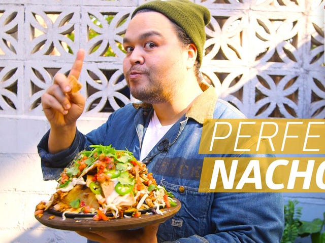 This Nacho-Stacking Method Ensures Every Bite Is Just as Delicious as the First