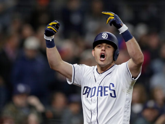 """Padres' Ian Kinsler Appears To Celebrate Dinger By Yelling """"Fuck All You"""" At The Home Crowd"""
