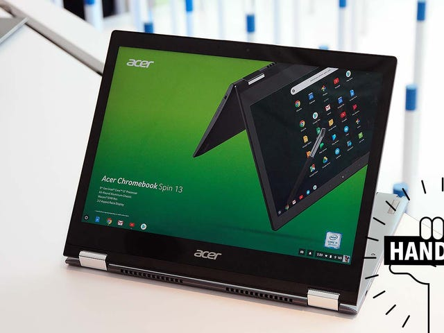 Acer's Chromebook Spin 13 Could Be the Most Well-Rounded Chrome OS Laptop On the Market