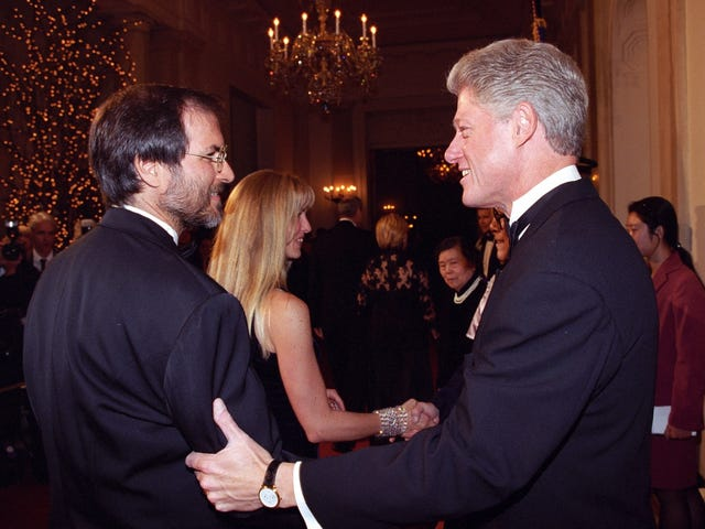 Newly Released Files Show Steve Jobs Gave President Clinton Unsolicited Cabinet Recommendations
