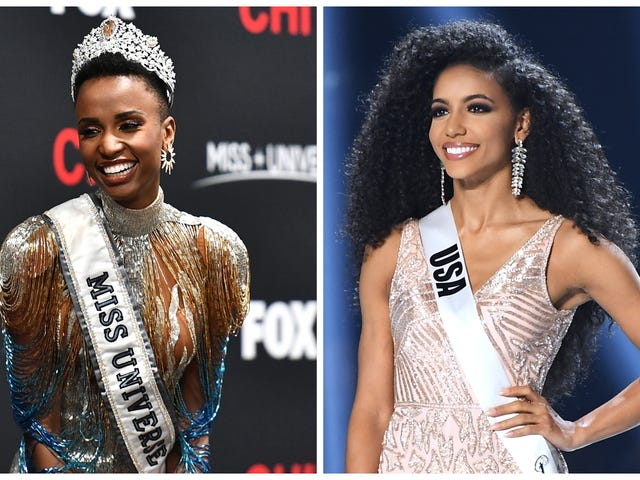 Better Together: As If It Isn't Great Enough That the Top Pageant Winners Are All Black Women, Two of Them Are Now Roommates!