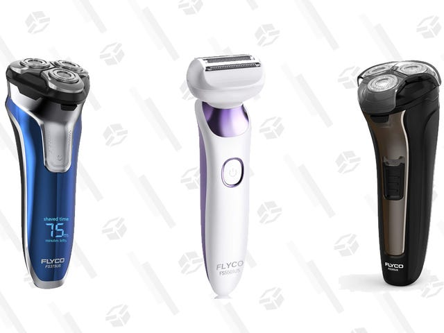 Save 25% on Flyco's Electric Razors for Men and Women