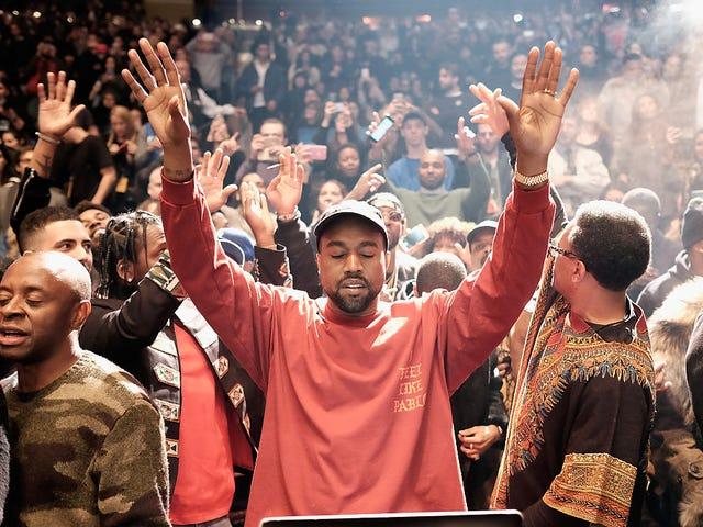 Kanye Has Gone Full Kanye and You Never Go Full Kanye