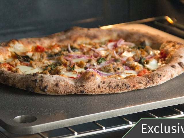 The Best Pizza Stone Is This Thick Slab of Steel, and It Has a Rare Discount Today [Exclusive]