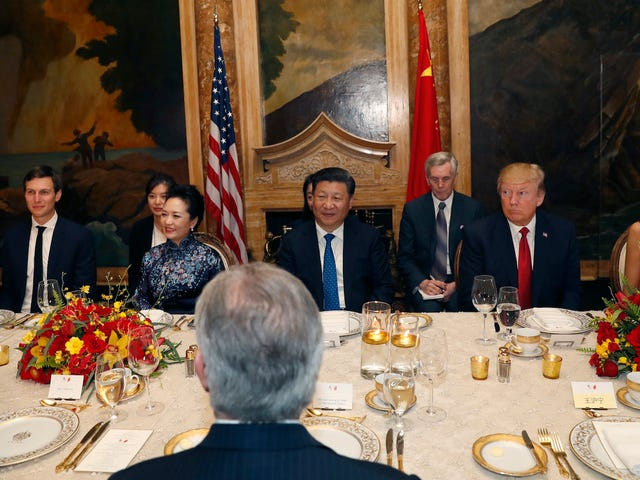 China Approved Trademarks for Ivanka Trump's Company the Same Day She Ate Steak With Xi Jinping