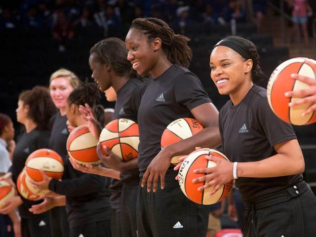 WNBA verurteilt Teams und Spieler mit Geldbußen, weil sie sich gegen Gewalt aussprechen