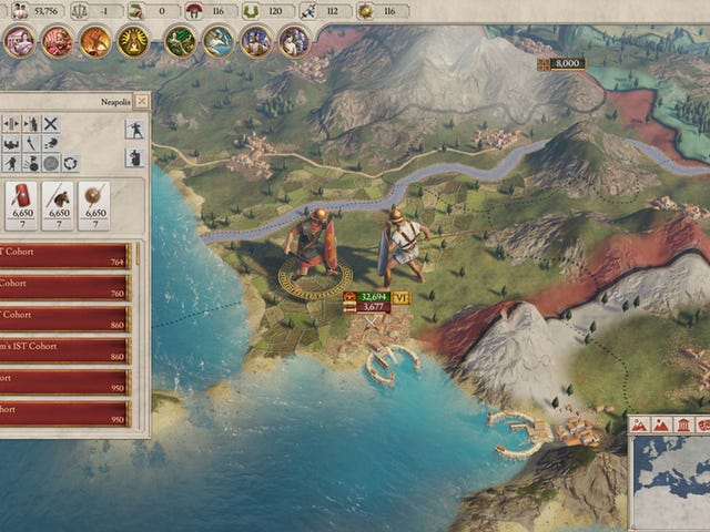 Paradox's Next Big Strategy Game Is Set In Rome