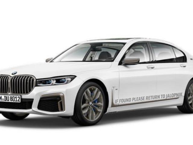 Dette kan være den oppdaterte BMW 7-serien før du skal se den