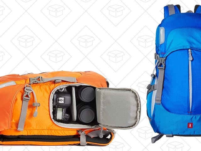 Go Snap Some Nature Photos With This $32 Photography Backpack