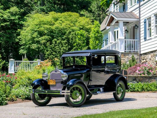 Ο γείτονάς μου τελείωσε την αποκατάσταση του 1929 Ford Μοντέλο A !!!!