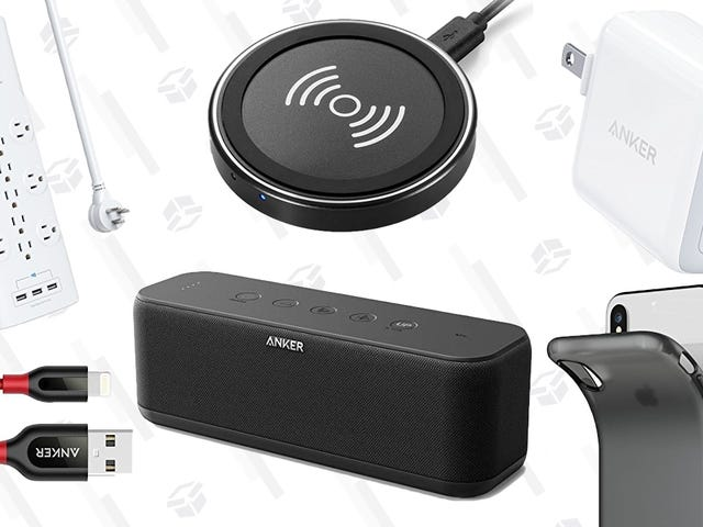 Save On Chargers, Cables, Speakers, and More During Anker's Back To School Sale