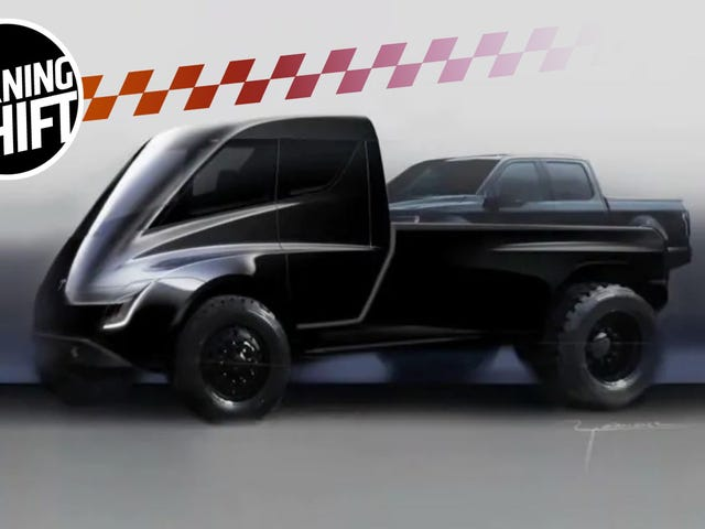 Elon Musk Has Some Wild Ideas For The Tesla Pickup Truck