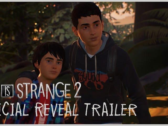 Вот первый взгляд на Life is Strange 2, в котором участвуют два брата, Шон и Даниэль Диас, на бегу от полицейских «после трагической ...