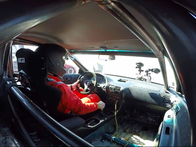 This Is What 200 MPH Looks Like In An Acura Integra