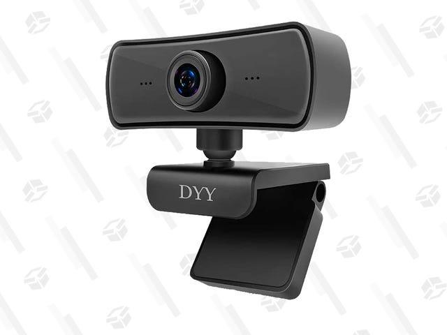 Mejore su juego de zoom con esta cámara web giratoria 2K de alta calificación por solo $ 20 con código promocional
