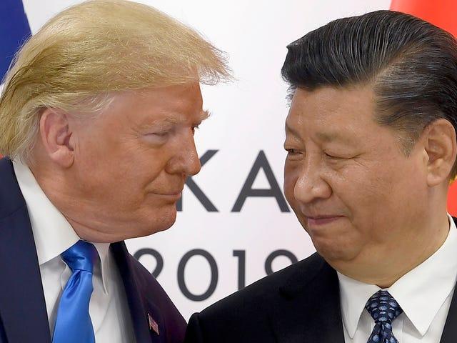 Trump retira el veto que impide vender tecnología a Huawei en el medio de las negociaciones con China