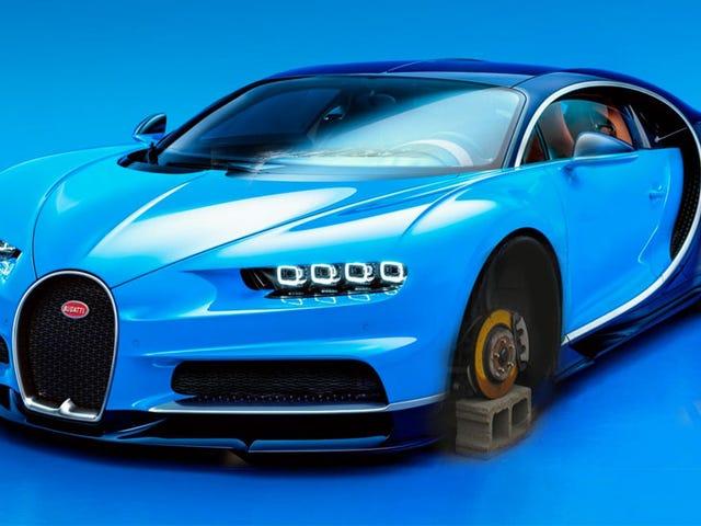 Bugatti Chiron kelihatan lebih baik daripada Veyron, sama seperti bodoh