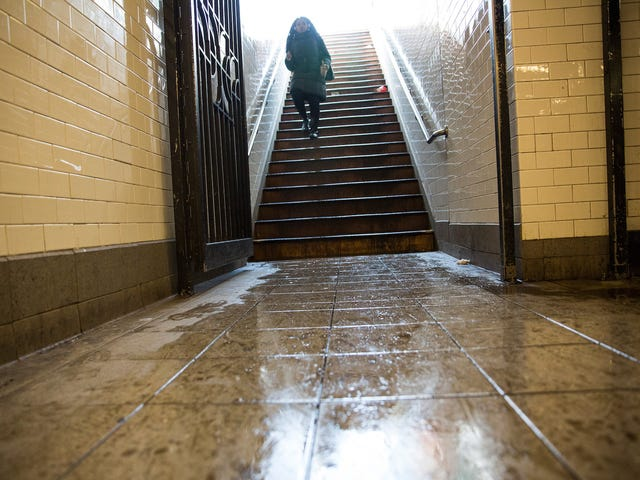 A Young Woman Fell and Died Trying to Carry Her Baby's Stroller In a Subway Station With No Elevator