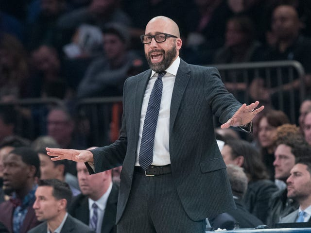 David Fizdale Doesn't Want To Be Tempted By Visions Of A Healthy Kristaps Porzingis