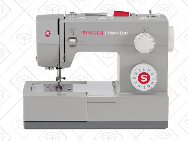 Stitch in Savings With This $118 Singer Sewing Machine