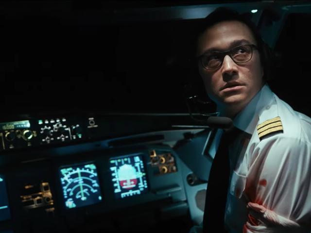 Joseph Gordon-Levitt is the unlikeliest of action heroes in the trailer for 7500