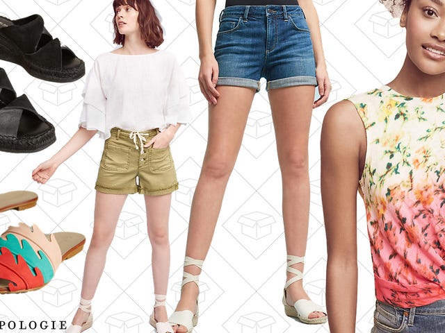 Summer Is Already Here for Anthropologie And Select Styles Are 30% Off