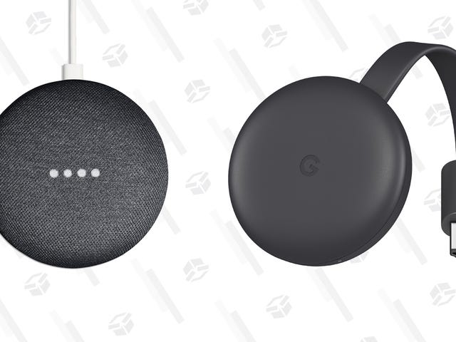Smarten Up Your TV With a Google Home Mini and Chromecast Bundle For $35