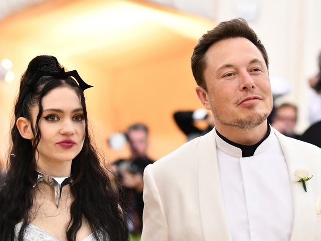 Elon Musk Dressed As Both James Bond And A James Bond Villain To The Met Gala
