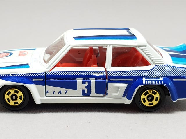 [REVIEW] Tomica Fiat 131 Abarth Rally
