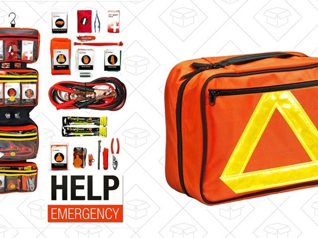 Get This $29 Roadside Emergency Kit, Just In Case