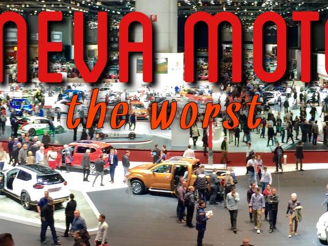 El Salón del Automóvil de Ginebra 2016: lo mejor, lo peor y lo más extraño