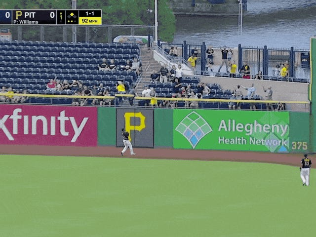 The Kids At This Pirates Game Are Absolutely Out Of Control