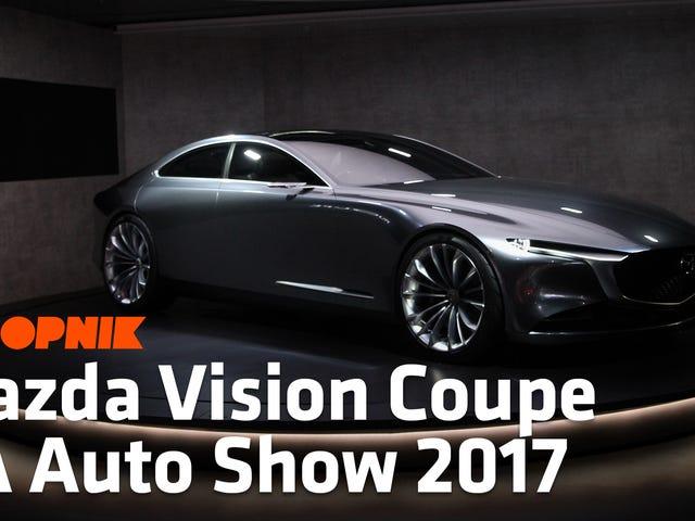 หวังจะได้เห็นหน้าตา Mazda Vision Coupe ในการผลิตในอนาคต Mazdas
