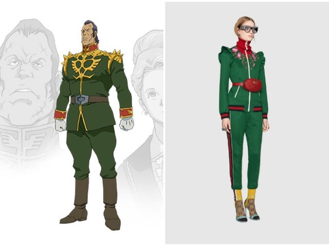 Who Wore It Better, Gundam Or Gucci?