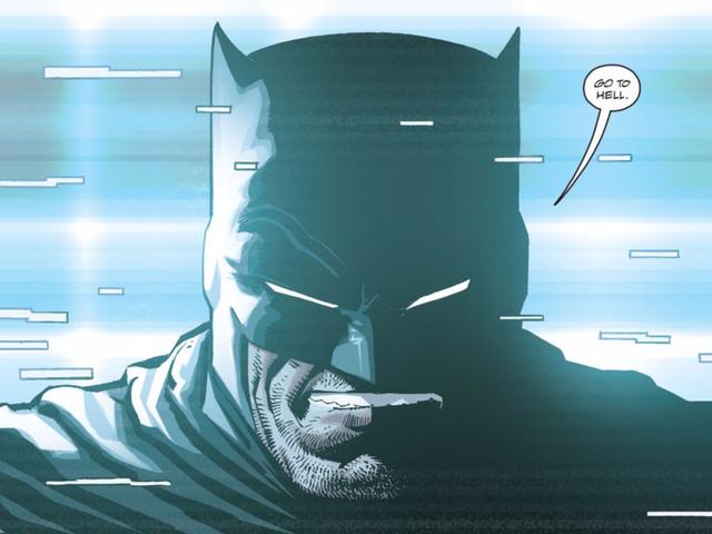La nouvelle série <em>Dark Knight</em> n&#39;est pas vraiment une bande dessinée Batman Anymore