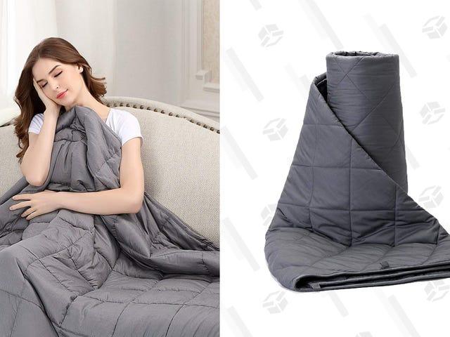 Riduci le tue ansie con queste coperte ponderate scontate