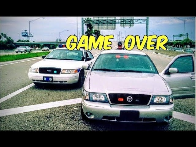 Random Videos YouTube Recommends To Me Based On My Viewing History 6 (Florida Highway Patrol Mercury Marauder Edition)