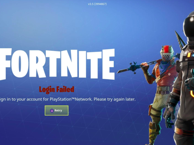 Fortnite Is Down [Update: It's Back, Plus Rewards]