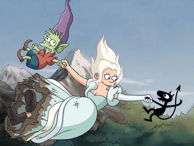 Matt Groening's new Netflix series Disenchantmentgets off to a rocky start