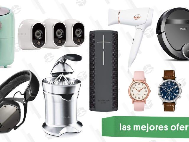 Las mejores ofertas de este viernes: Relojes Timex, aspiradoras robóticas, cámaras de seguridad Arlo Security y más