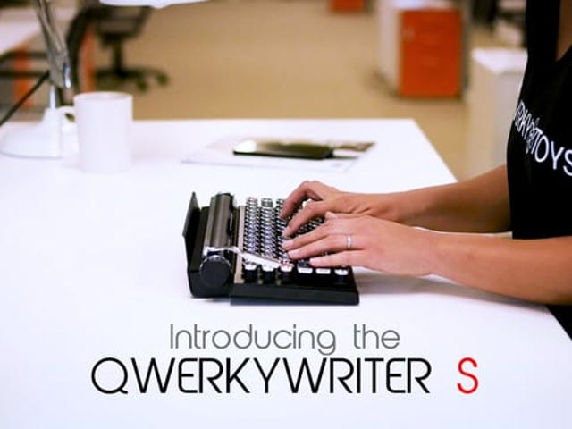 QWERKYWRITER S: Classy and Clacky