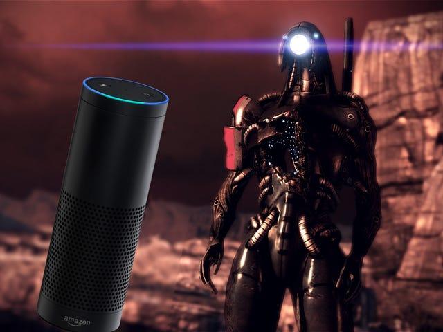 <i>Mass Effect</i>の最も良い瞬間の1つはアマゾンエコーイースターエッグです