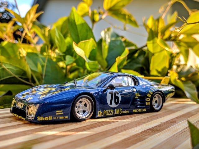 Ferrari's Blue Whale Boxer: Pozzi 512BB/LM, Le Mans 1980