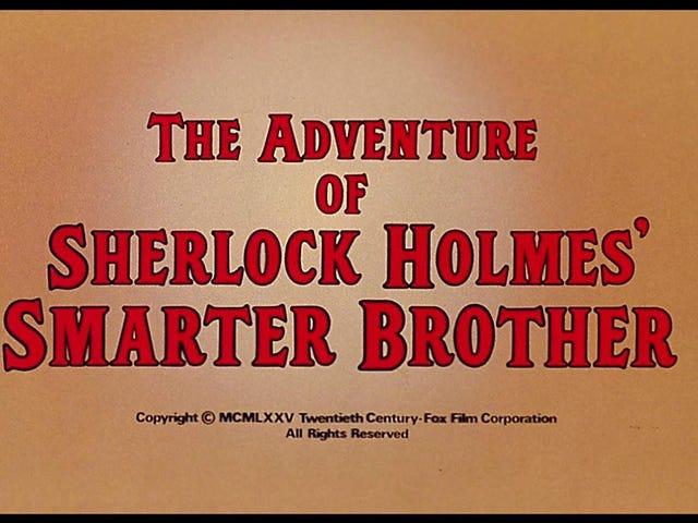 Äventyret av Sherlock Holmes 'Smarter Brother (1975)