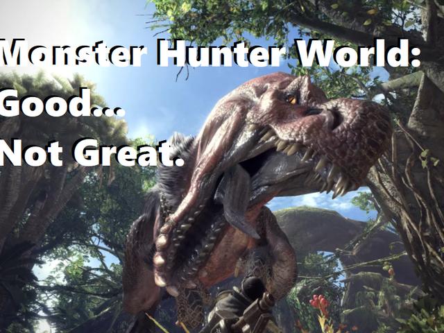 Monster Hunter World: Bon jeu mais ... un 92 métacritique?