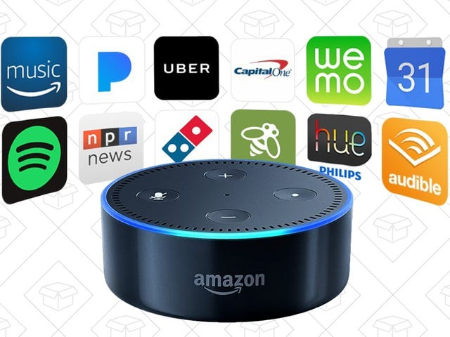 Scatter Some Refurbished Echo Dots Around Your Home For $35 Each