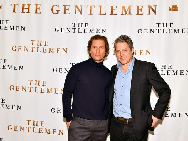 Matthew McConaughey and Hugh Grant Set Up Their Old-Ass Parents On a Date