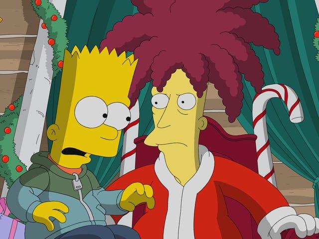 Sideshow Bob slösas bort i en Simpsons semesterepisod utan anledning att existera