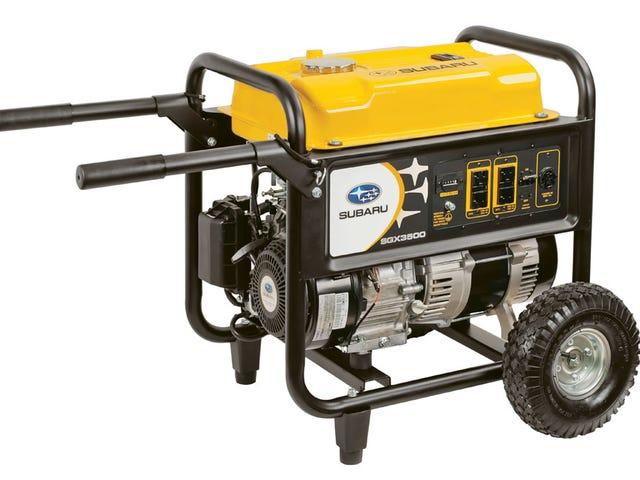 Vidste du, at Subaru lavede generatorer?